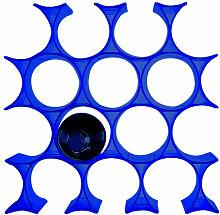Porte-bouteilles INFINITY de Kartell, Bleu