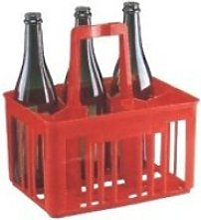 Porte-bouteilles plastique 6 bouteilles 29 x 20,5
