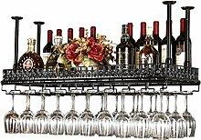 Porte-bouteilles réglable en hauteur monté au