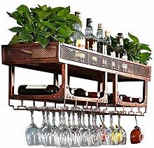 Porte-bouteilles Support à vin en métal fixé au