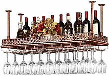 Porte-bouteilles suspendus au mur porte-bouteilles