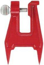 Porte-chaîne de scie à étau, outil