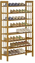 Porte-chaussures Bamboo Shoe Rack 8 couches