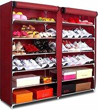 Porte-chaussures Meuble à chaussures simple de 7