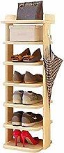Porte-chaussures Niveau chaussures en bois rack