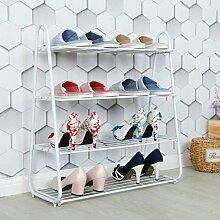 Porte-chaussures simple étagère maison