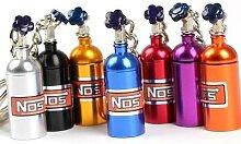 Porte-clés bouteille d'oxyde nitreux Turbo