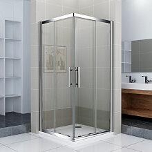 Porte de douche 100x76x187cm Porte coulissante