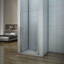 Porte de douche 70x187cm porte de douche pivotante