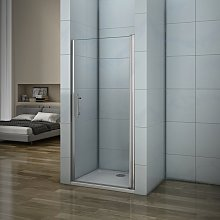 Porte de douche 76x187cm porte de douche pivotante