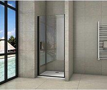 porte de douche 80x200cm porte de douche pivotante