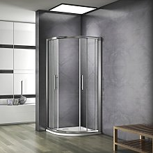 Porte de douche 90x90x185cm cabine de douche