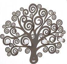 Porte-manteau mural décoratif Tree of Life 3487