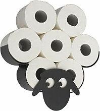 Porte-papier hygienique modele mouton agreable,