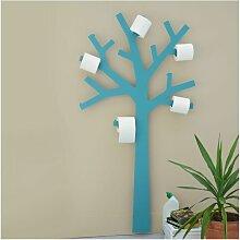 Porte-papier toilette de PRESSE CITRON - Turquoise