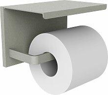 Porte-papier wc gris