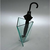 Porte-parapluie en verre Goccia