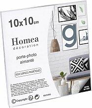 Porte-photo Aimanté display 10x10cm Transparent -