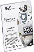Porte-photo Aimanté display 6x9cm Transparent -