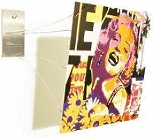 Porte photo mural original design by vidame