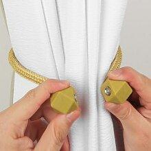 Porte-rideau magnétique à multiples facettes, 1