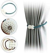Porte-rideau magnétique avec boucle pour