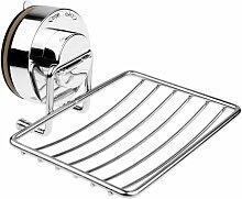 Porte-savon, distributeur de savon en acier