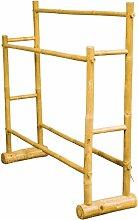 Porte-serviette en bambou  bois clair
