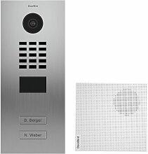 Portier vidéo IP 2 sonnettes + 2 Carillons et