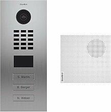 Portier vidéo IP 3 sonnettes + 3 Carillons -