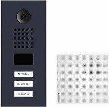 Portier vidéo IP 3 sonnettes + 3 Carillons et