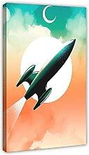 Poster de chambre d'enfant fusée (18) sur