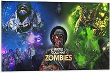 Poster sur toile Game Call of Duty Black Ops Cold