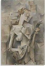 Poster sur toile représentant une fille Picasso