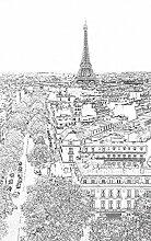 Poster tenture murale XL déco PARIS ETERNEL 150 x