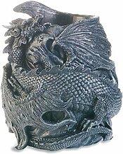 Pot à crayon gothique Dragon noir