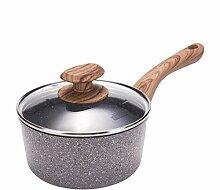 Pot à lait 16cm Pot antiadhésif Poêle chaude