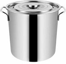 Pot à soupe de grande capacité en acier