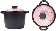 Pot À Soupe De Ragoût En Céramique Avec