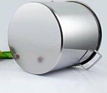 Pot à soupe grande capacité en acier inoxydable