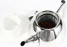 Pot à thé en acier inoxydable K Bouilloire à
