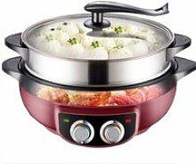 Pot Chauffant Électrique pour La Maison Wok