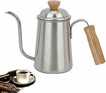 Pot de café à la main portable en acier