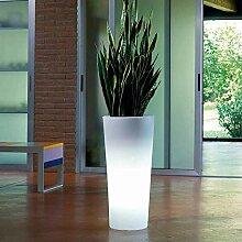 Pot de fleur, jardinière lumineux Vigo RGB Led
