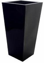 Pot de fleurs Kabin Maxi - Serralunga noir en
