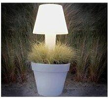 Pot de fleurs lumineux pure twilight