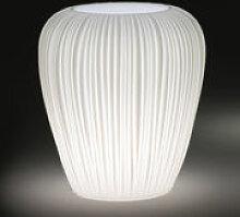Pot de fleurs lumineux Skin Small / H 60 cm -