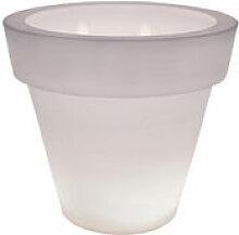 Pot de fleurs lumineux Vas One Light - Serralunga