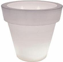 Pot de fleurs lumineux Vas-Two Light - Serralunga
