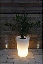 Pot de glowtub Pot colonne à fleurs round
